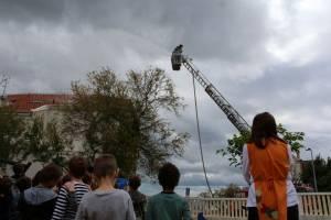 Vježba evakuacije i gašenja požara u vrtiću